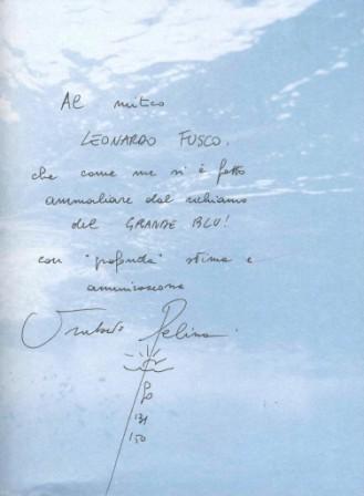 Dedica per Leonardo Fusco da Umberto Pelizzari